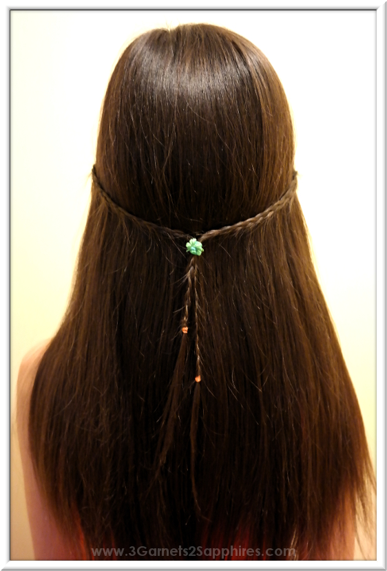 3 Garnets & 2 Sapphires: 5 Easy Back-to-School #StraightAStyle Hairstyles for Girls