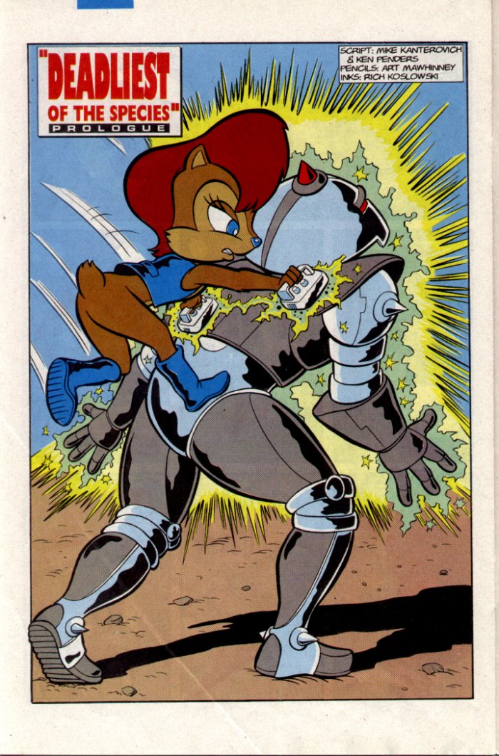 Read online Sonic The Hedgehog comic -  Issue #20 - 20
