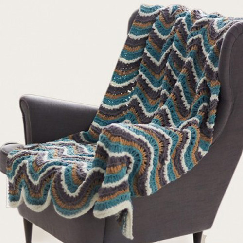 Ripple Blanket - Free Pattern