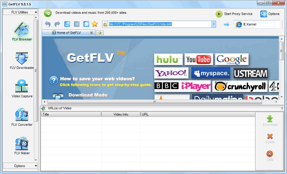 GetFLV Pro Full