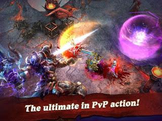 Clash For Dawn Guild War Mod Apk God