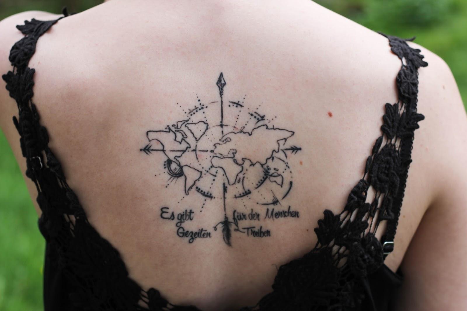Weltkarte Tattoo Weltkarte Wandtattoo Jooptimmer