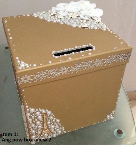 Story Of Cjnsal Wedding Angbao Box