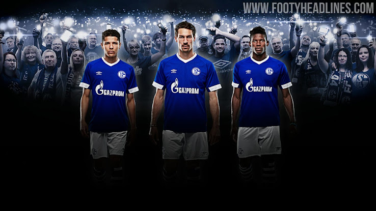 9e7ca89905d Umbro Schalke 18-19 Home Kit Released - Footy Headlines