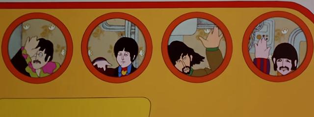 Le sous-marin jaune des Beatles