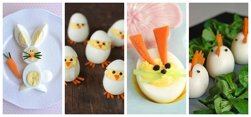 8 propozycji na fantazyjne dania z jajek dla dzieci! Idealne na Wielkanoc !