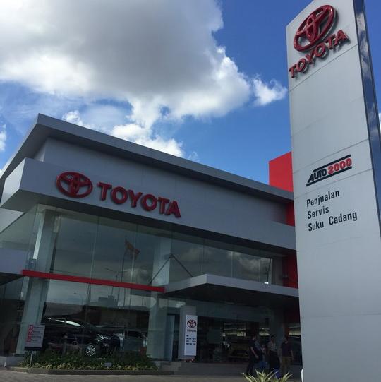 Dealer Toyota Auto 2000 Jatiasih Bekasi