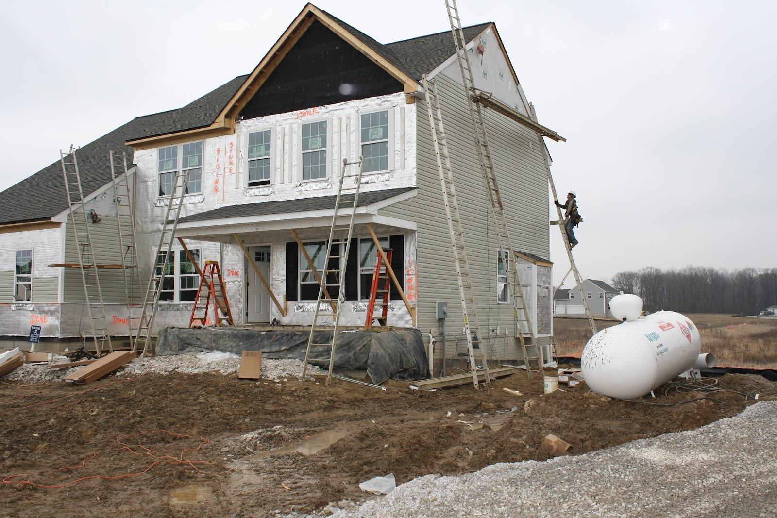Building House 2 With Ryan Homes Quot The Ravenna Quot Siding