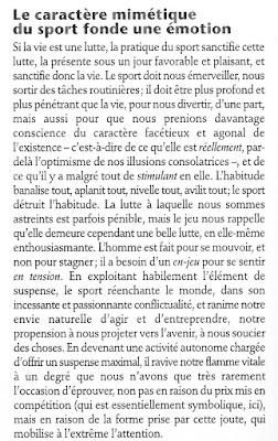 Revue Elements. Sport. Le paradoxe de la civilisation. Thibault Isabel. Krisis Diffusion.