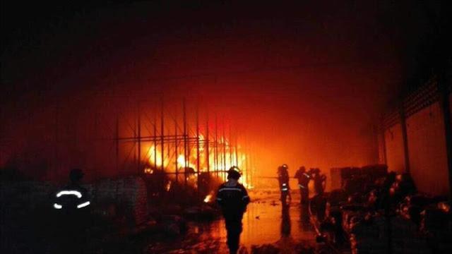 ¡Golpe al pueblo de Venezuela! Incendian 40 toneladas de comida