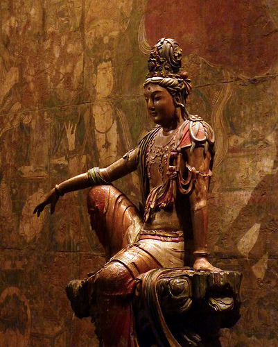 Guanyin Bodhisattva of the Southern Sea by gmeador