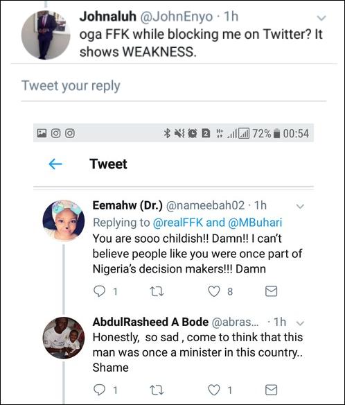 Fani-Kayode's tweet