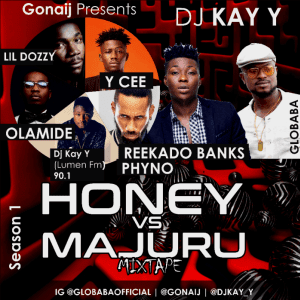 [Mixtape] DJ Kay Y – Honey vs Majuru Mix