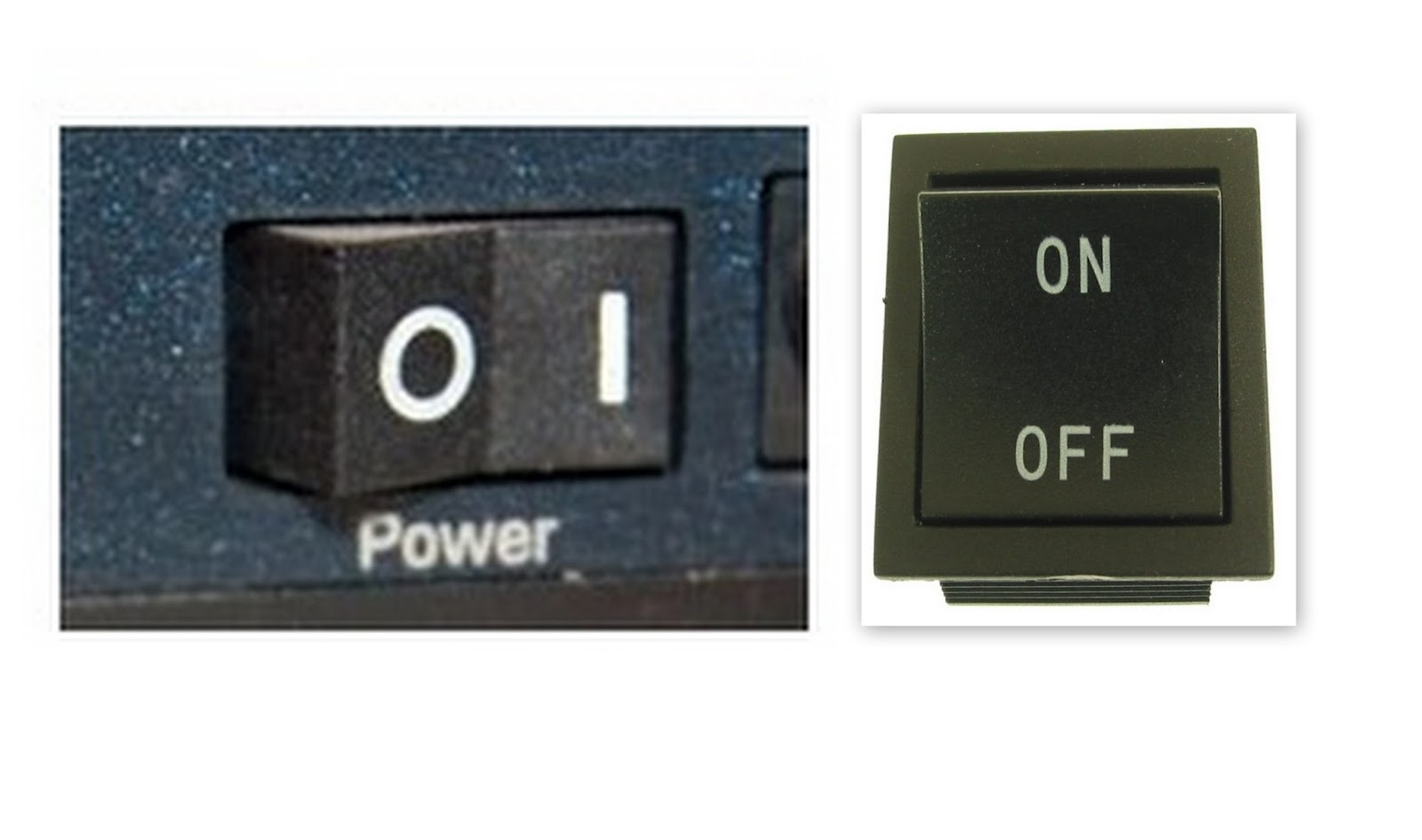 which one is on and on off switch symbols pictures to pin