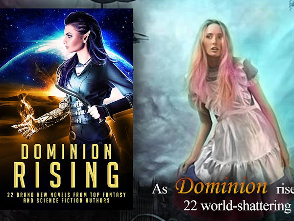 Curiouser and Curiouser - Steampunk Alice in Wonderland coming in the Dominion Rising Boxed Set! Now available for pre-order on Amazon!