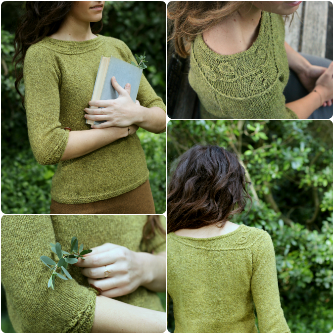 Never Not Knitting Botanical Knits 2 Pattern Preview