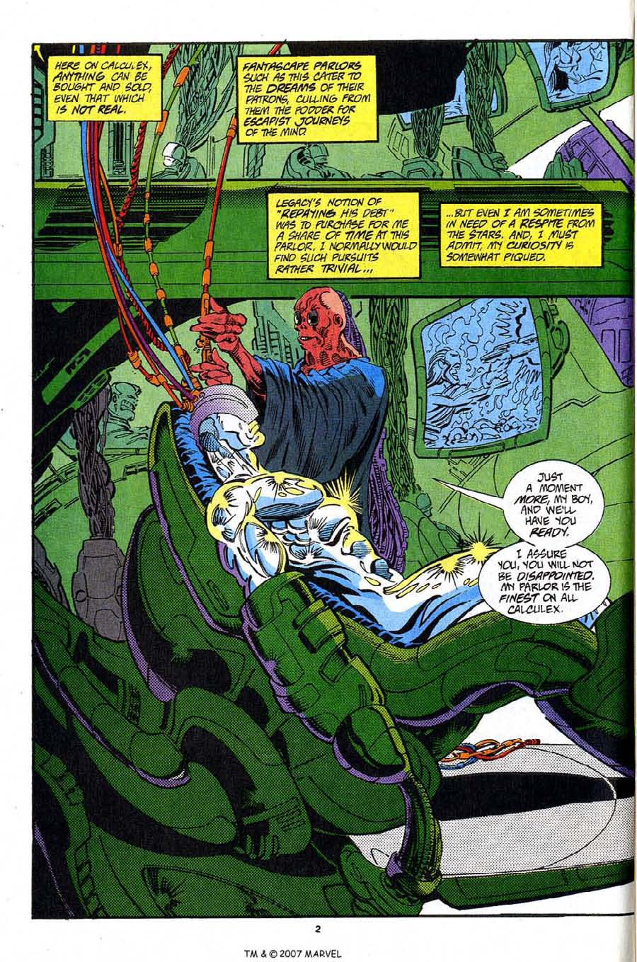 Read online Silver Surfer (1987) comic -  Issue #91 - 4