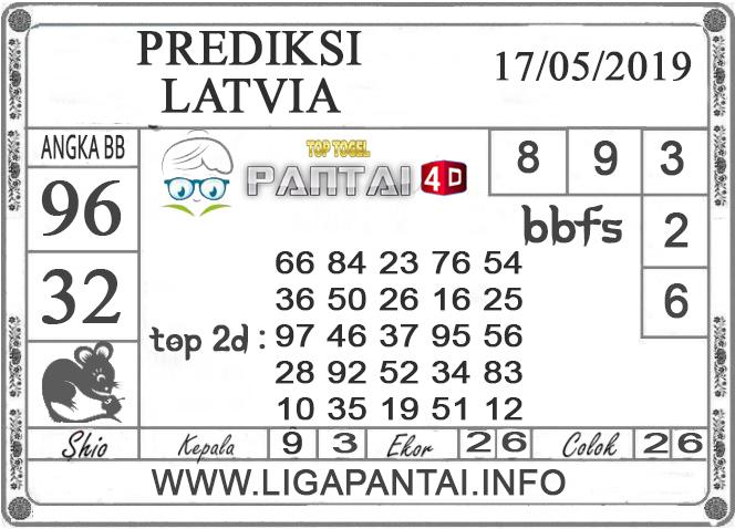 """Prediksi Togel """"LATVIA"""" PANTAI4D 17 MEI 2019"""