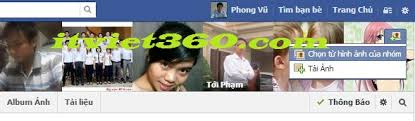 Huong dan moi nhat 2013 thay doi anh bia cho nhom trong Facebook