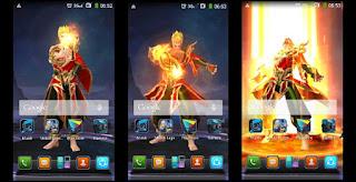 Cara Membuat Wallpaper Bergerak Hero Mobile Legends di Smartphone