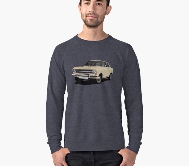 70's Opel Kadett B Sedan shirt