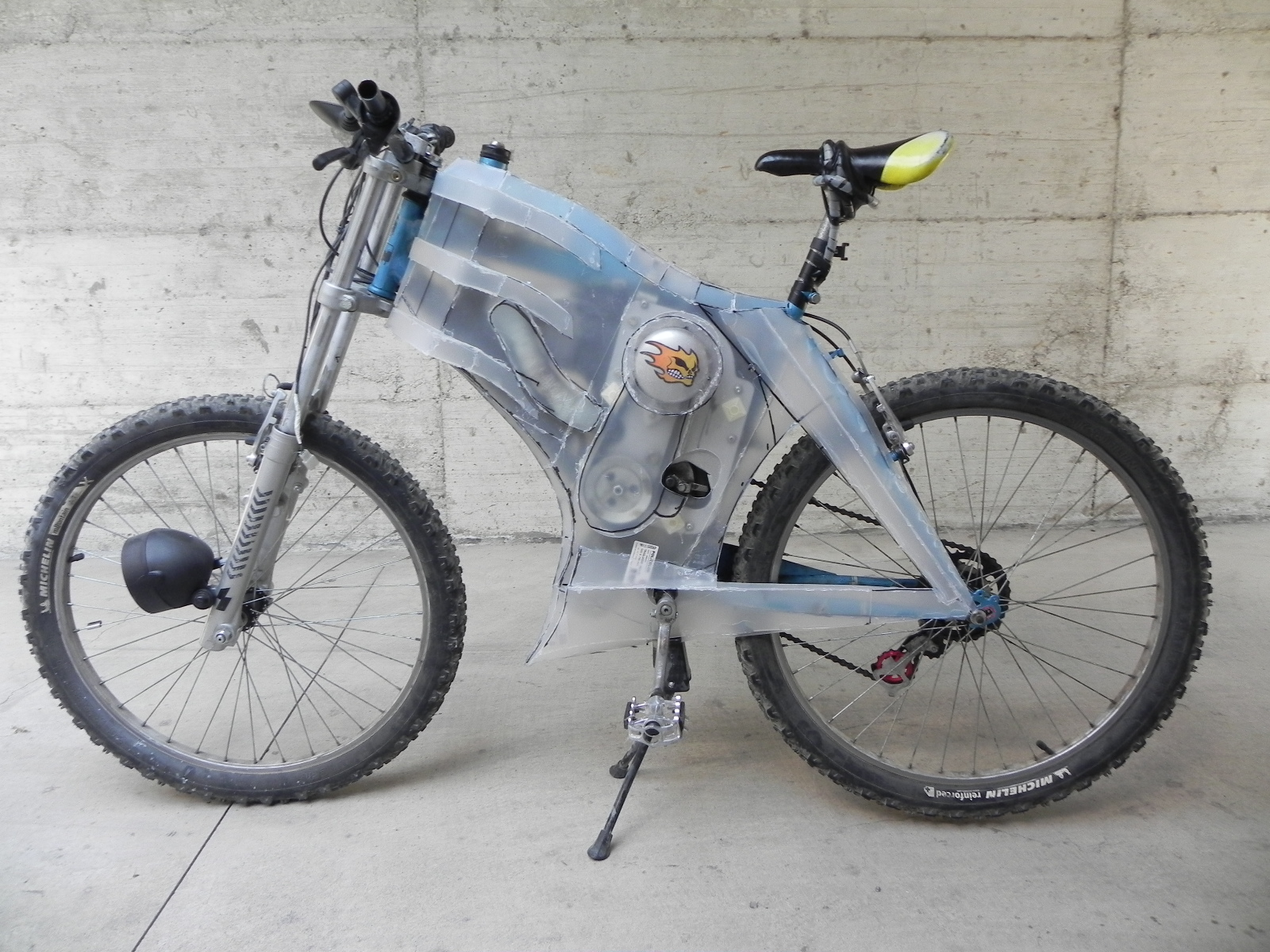 Gas Electric Bicycle Work In Progress