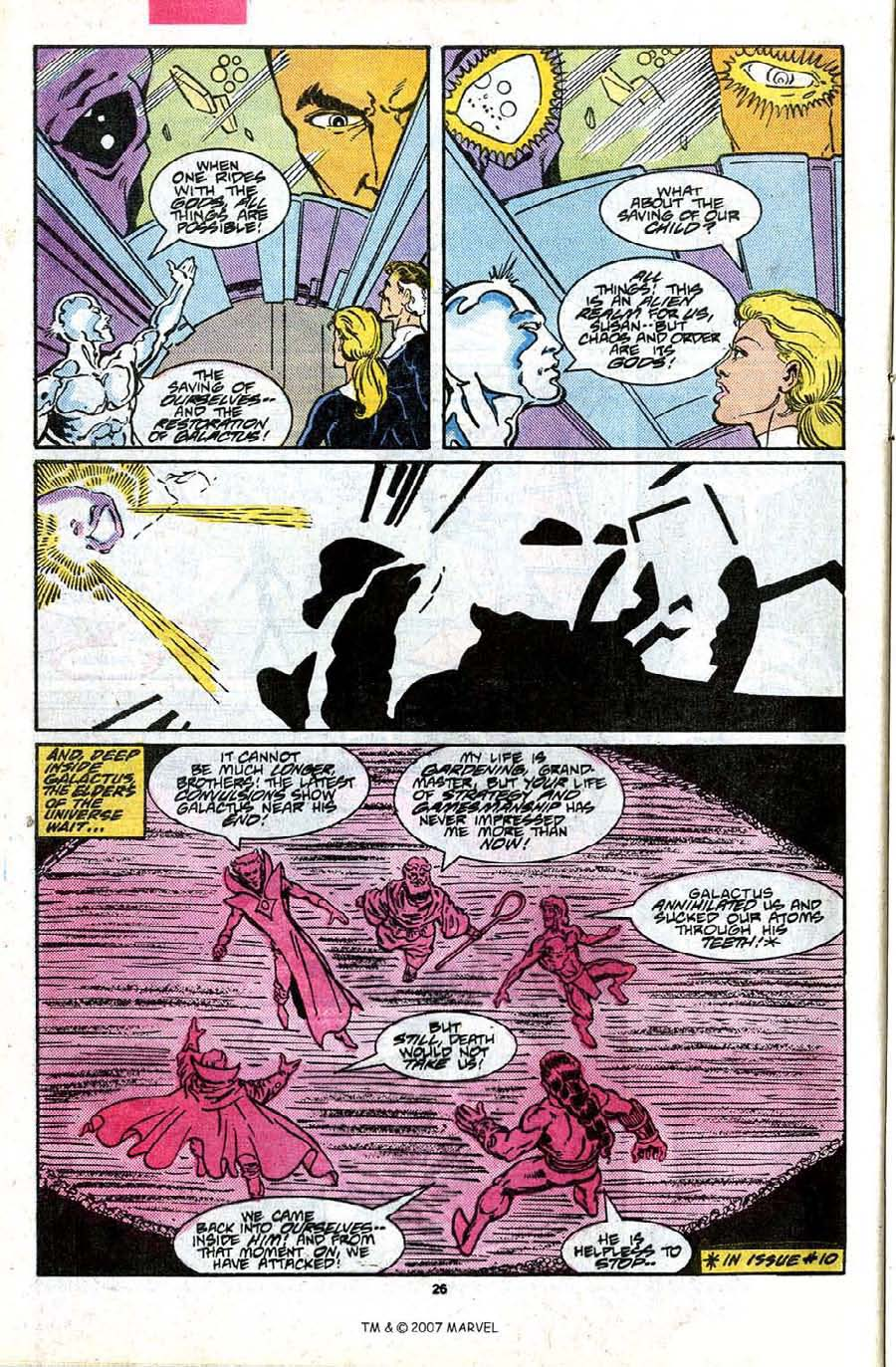 Read online Silver Surfer (1987) comic -  Issue #17 - 28