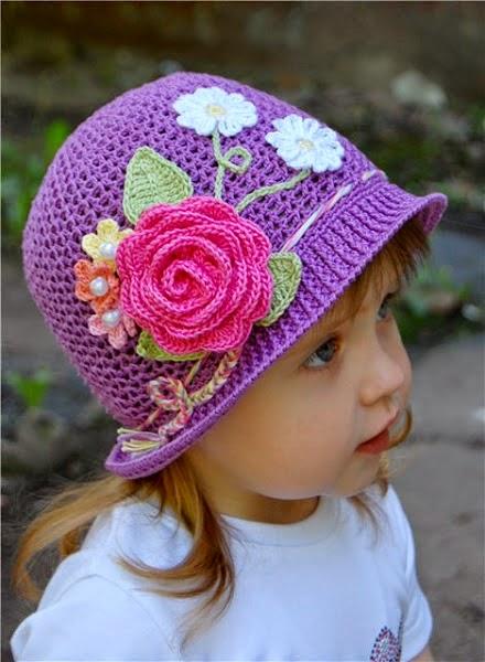 Pretty Spring Crochet Hat Pattern Russian Yeah Let Me Try