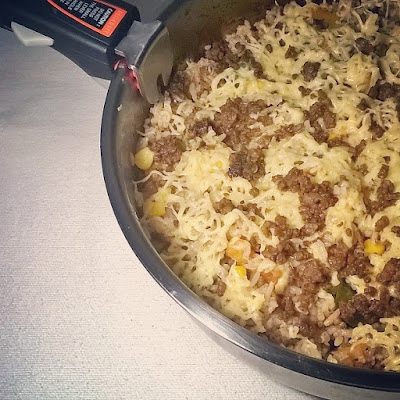 taco rice, mexican rice casserole, all-around pinay mama, sj valdez