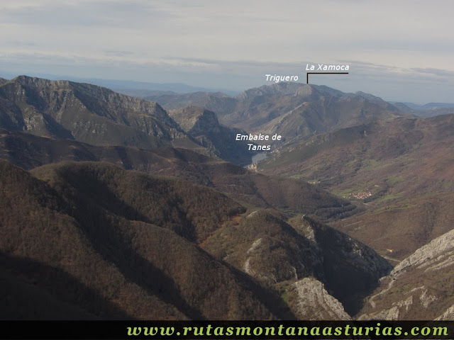 Vista de la Xamoca y Triguero