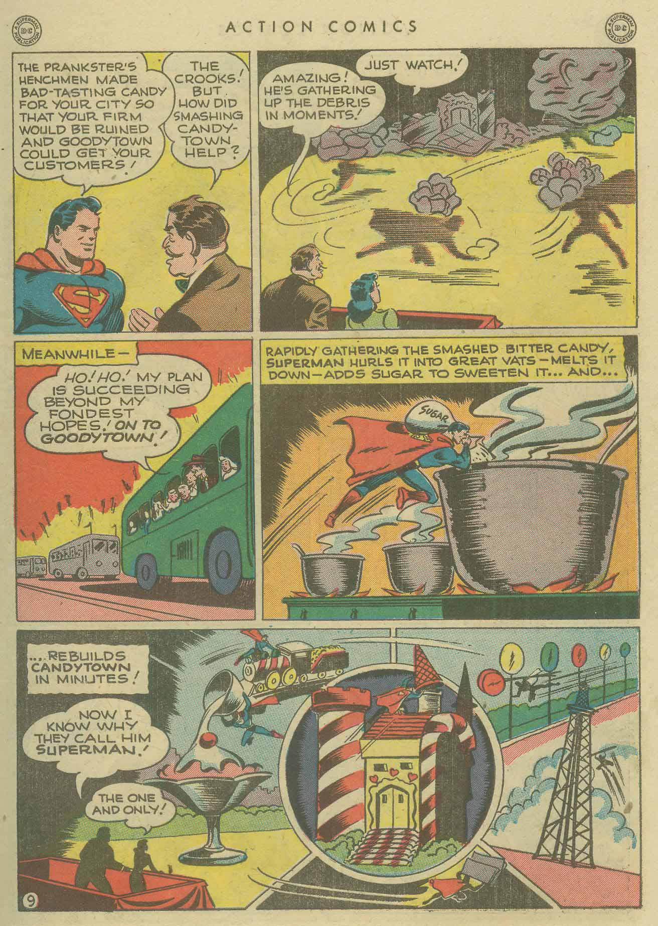 Read online Action Comics (1938) comic -  Issue #104 - 11