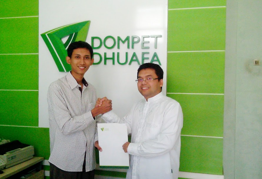Usman Didapuk Jadi Pimpinan Cabang Dompet Dhuafa Banten yang Baru