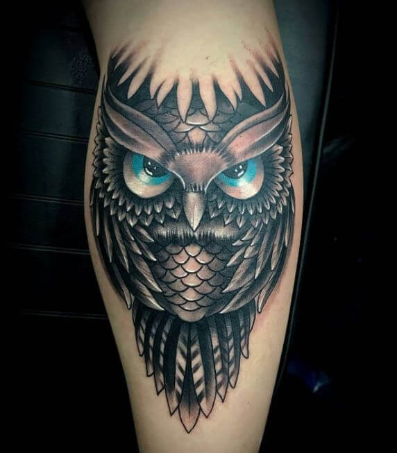 110 Cute Owl Tattoos Ideas and Designs (2018) - Page 5 of 5 ...