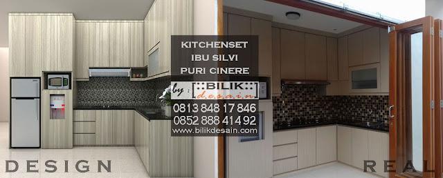 kitchen set puri cinere, kitchen set cinere, kitchen set depok, kitchen set jakarta, kitchen set murah
