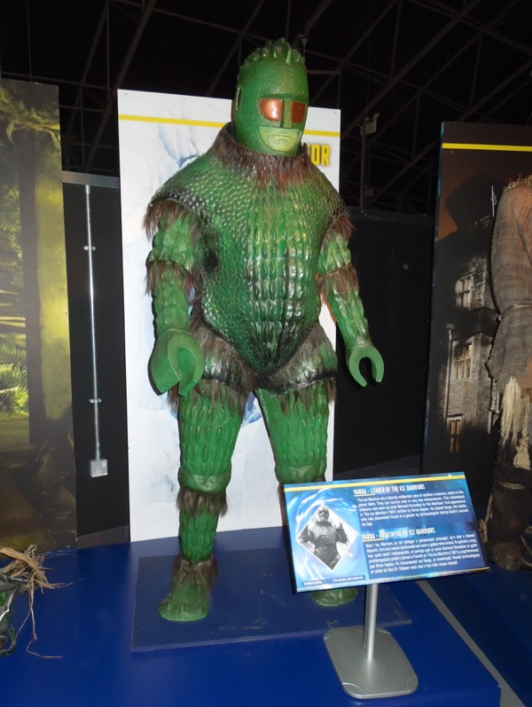 Ice Warrior costume 1967 Doctor Who