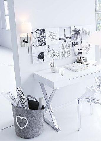Un espacio de trabajo en casa