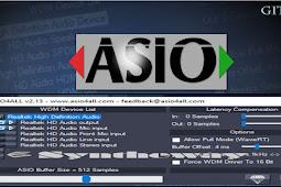 mengenal asio4all software anti delay terbaik