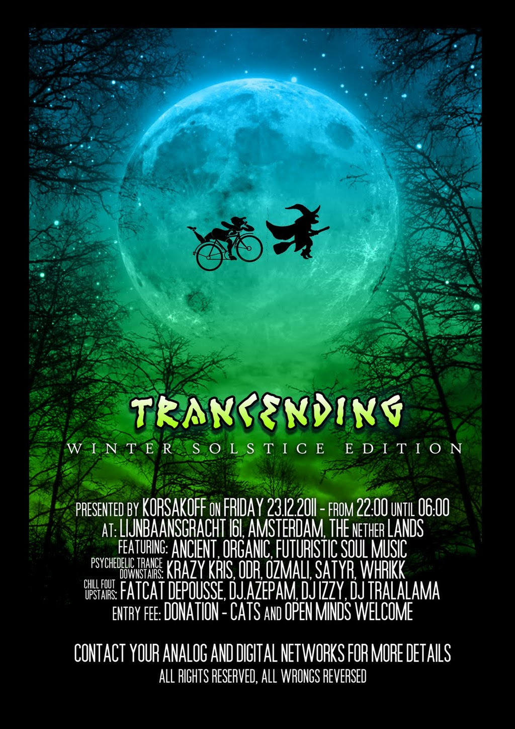 Trancending - The Winter Solstice Edition - 23.12.2011