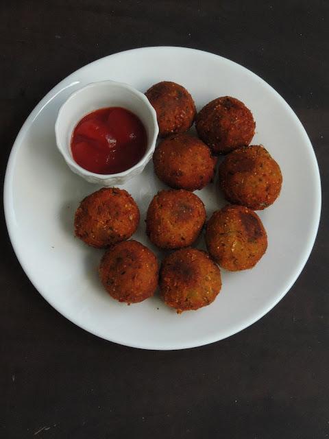 Pudhina Sweet corn Kola Urundai