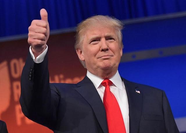 Khi Donald Jonh Trump trở thành tổng thống thứ 45 của Hợp chủng quốc Hoa Kì
