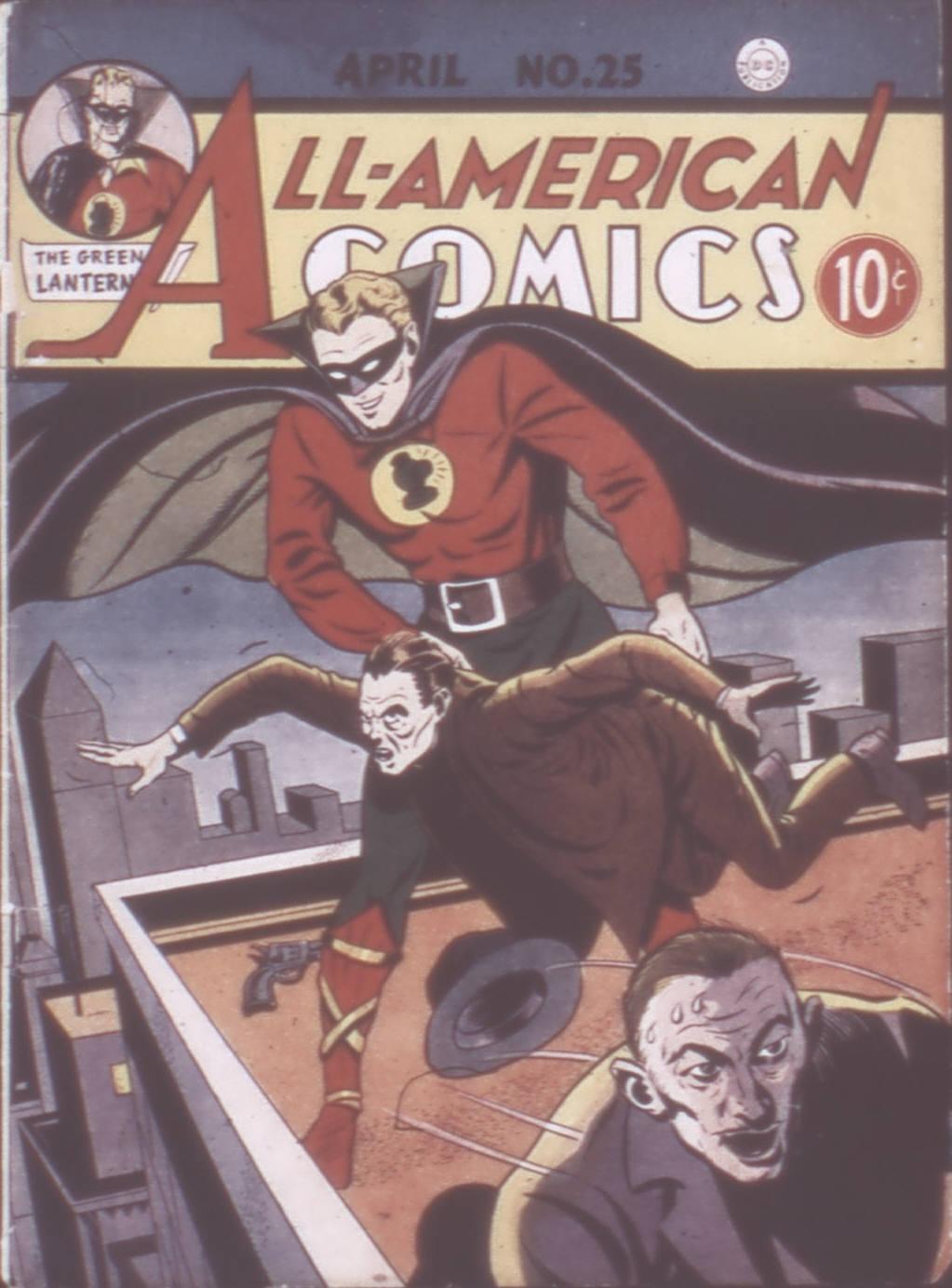 Read online All-American Comics (1939) comic -  Issue #25 - 1