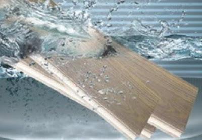 Bí quyết làm tăng khả năng chịu nước của sàn gỗ