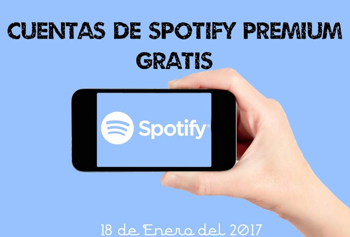 Cuentas Spotify Premium GRATIS: Enero