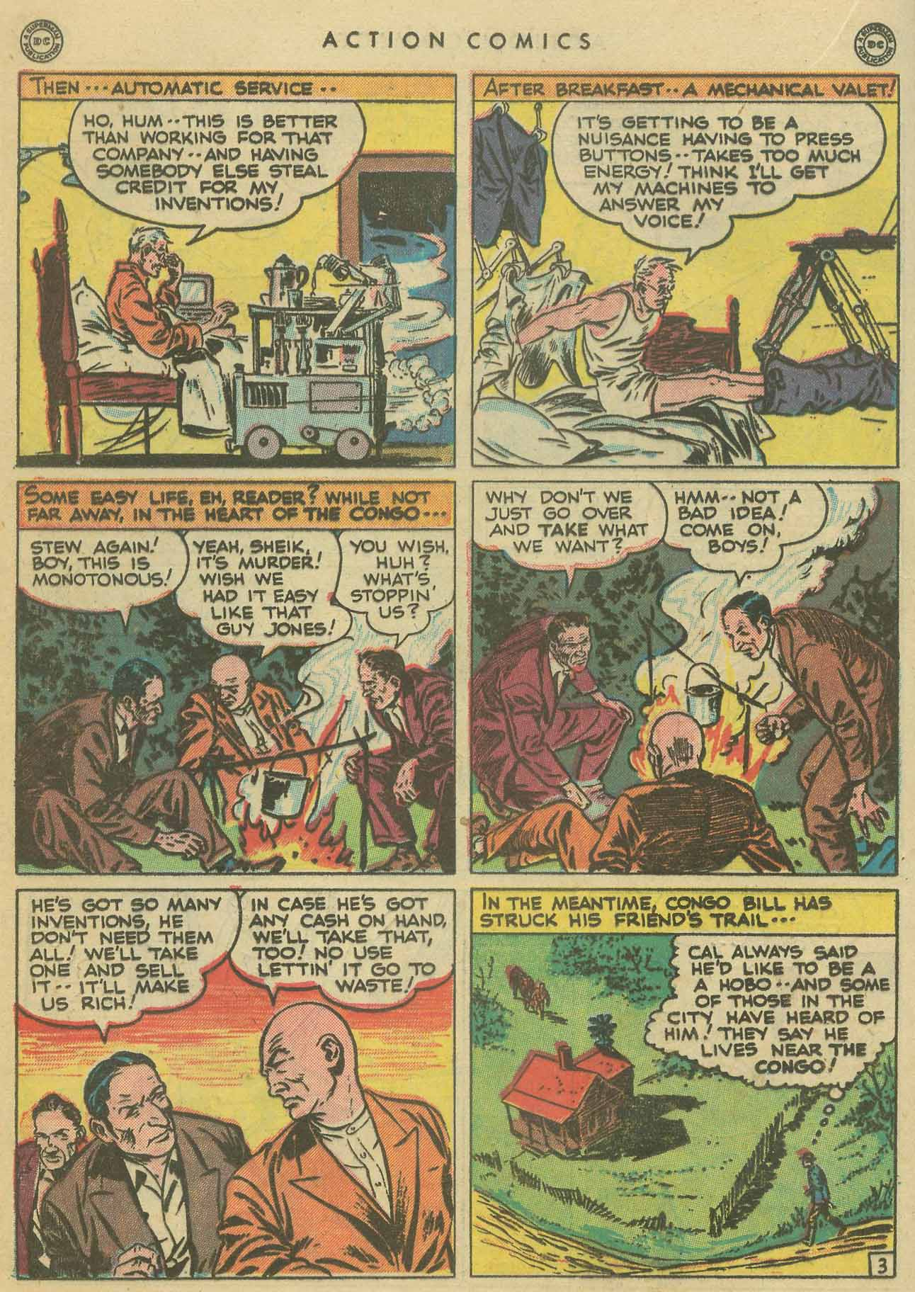 Read online Action Comics (1938) comic -  Issue #102 - 23