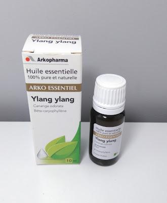 huile essentielle, laboratoires arkopharma, HE, ylang ylang, bullelodie