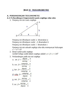 download file berkas dokumen data rangkuman matematika kelas x trigonometri doc pdf
