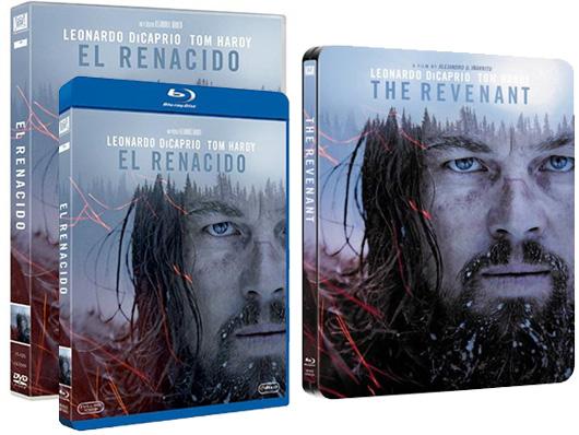 A la venta 'El renacido' en DVD, Blu-ray y Steelbook