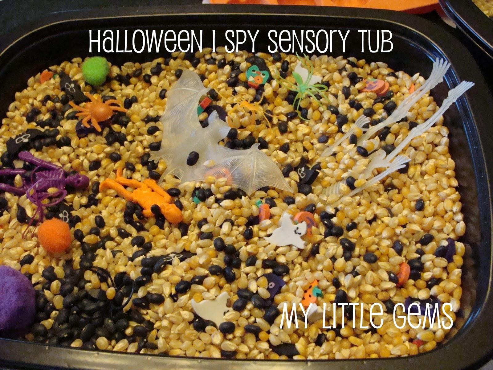 My Little Gems Halloween I Spy Search N Find Tub