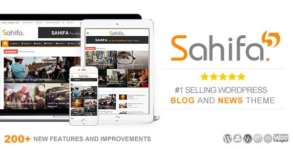 Sahifa 5.6.8 Premium WordPress