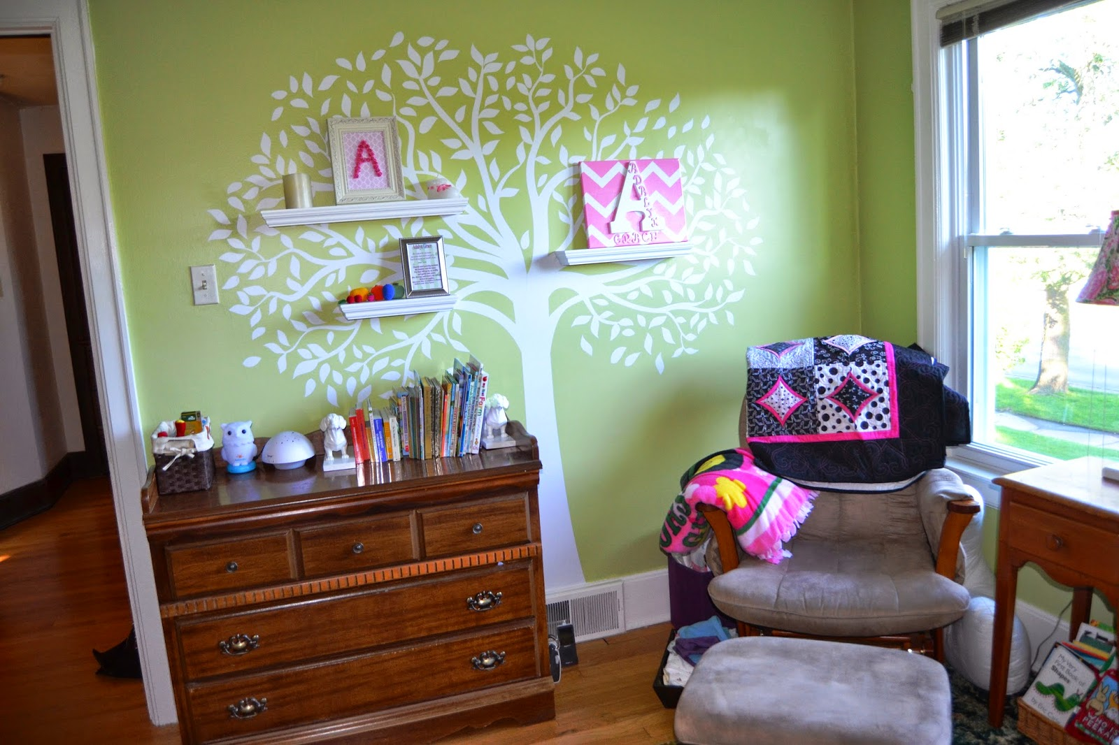 tree decal nursery